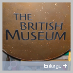 Traditional British Museum Sign